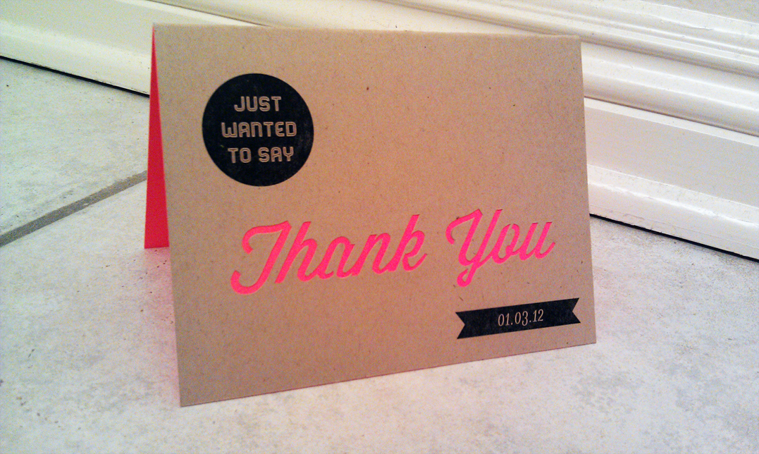 Thank You card | Baba Says It\'s Art